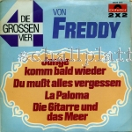 Freddy Quinn - Die Grossen 4 (1972) Doppel Single 2 x 2
