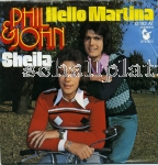 Phil & John - Sheila (1968) Hello Martina